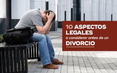 10 Aspectos Legales a Considerar Antes de un Divorcio en Costa Rica