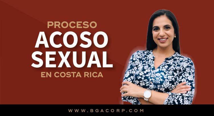 Procedimiento ante Hostigamiento Sexual en el Trabajo y la Docencia en Costa Rica