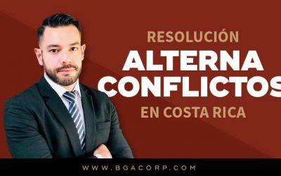 Resolución Alterna de Conflictos en la Aplicación del Derecho Costarricense Actual